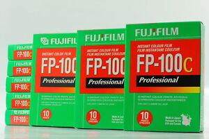 [Brand NEW 8 Packs] FujiFilm FP-100C Pro Instant Color Film from japan #b59