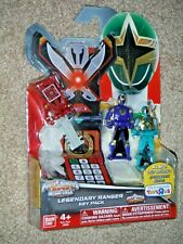 Power Rangers Super Megaforce Ninja Storm Key Pack Navy Crimson Thunder Samurai