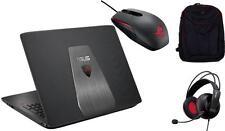 """ASUS ROG GL552VW-DM201T NOTEBOOK per Gaming 15.6"""", i7-6700HQ 8GB 256GB+1TB GTX960M W10"""