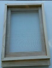 Beekeeping Supplies Screened bottom board NZ pine, SS wire  suits 8 Frames hive