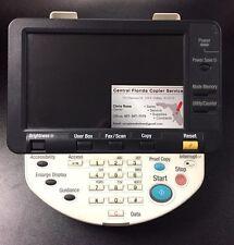 Konica Minolta Bizhub C652 C552 C452 screen  Control Panel Display A0P0M70601