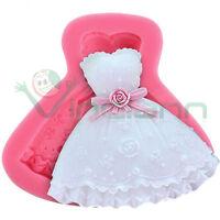 Stampo forma stampino Vestito decorazione torta dolci sposa abito Cake Design