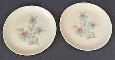 "Vintage Canonsburg ""Fairlane"" Dura Gloss 10"" Dinner Plates - Set of 2"