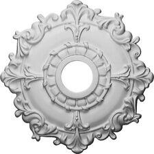 Ceiling Medallion18 Primed Medallion Canopy Cover Trim Accessory Fan Chandelier