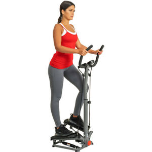 Sunny Health & Fitness Twist Stepper w/ Handlebar and Resistance Bands-SFS020065