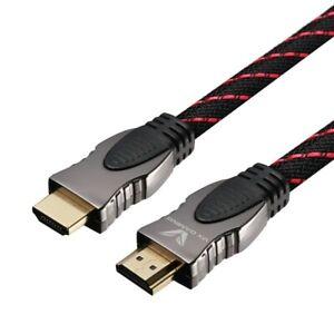 HDMI 4k UHD Gaming Cable - Volkano Target Series V2.0 Gold Plated - VX102BK