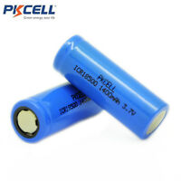 2 x ICR 18500 Li-ion Lithium Rechargeable Batteries 3.7V 1400mAh Battery PKCELL