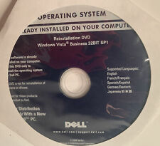 Dell Operating System Reinstallation DVD Windows Vista Business 32 Bit SP1 YB2