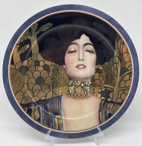 Historischer Sammelteller Artis Orbis Goebel Gustav Klimt Judith I
