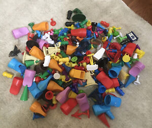 100 Assorted Vintage Game Pieces MOVERS
