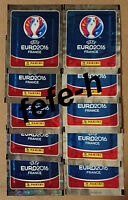 Panini - UEFA EURO 2016 FRANCE - Lot 10 Pochettes neuves (Edition International)