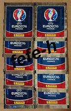 Panini - UEFA EURO 2016 FRANCE - Lot 10 Pochettes neuves (Edition International)