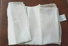 2x Seidentuch 100%, Made in China ca. 28x 28 cm Rollsaum  -  (Fast) NEU + OVP