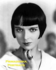LOUISE BROOKS 8x10 Lab B&W Photo SEXY 1920s Silent Era Glamour Portrait