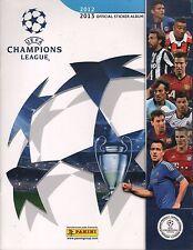 Italy 2012-13 Panini Soccer UEFA Champions League Sticker Album version Peru
