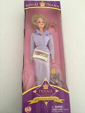 Princess Diana ROYAL DIANA Way Out Toys Collectable Doll NIB mauve barbie style