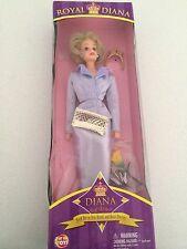 Princess Diana ROYAL DIANA Way Out Toys Collectable Doll NIB mauve barbie style