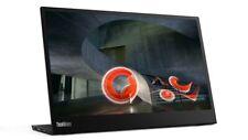 Lenovo ThinkVision Monitor M14 14 Zoll (35,6cm) FHD LCD IPS Display 6ms schwarz