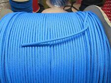 "3/16"" X 50' Diamond Braid Polypropylene MFP utility rope with polly  core Blue"