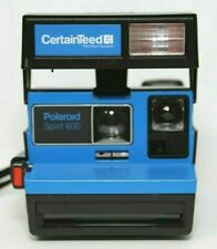 Vintage Rare Polaroid Spirit 600 Instant Camera Certainteed Collectible Edition