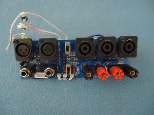 Gemini XGA-5000, XGA-4000 INPUT/OUTPUT.PCB Line Input / Speakers output Board