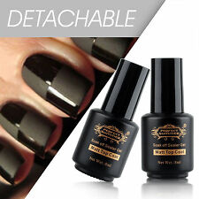 Hot No-Wipe Super Matte Top Coat UV Gel Polish BORN PRETTY Nail Art Soak Off diy