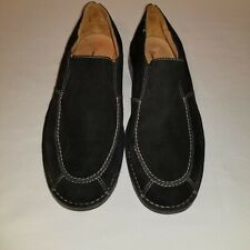 Tommy Bahama Astor Mens Black Suede Loafers Size 9.5 M