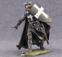 Toy Tin Soldier 1/32 Knight Hospitaller 54mm Hand Painted Metal Figurine