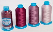 Marathon Polyester Embroidery machine thread:  Mauve/Burgundy 4 x 1,000m
