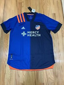 $130 Adidas FC Cincinnati XXL Authentic Home Jersey 2020 - EH8678 - New w Tags