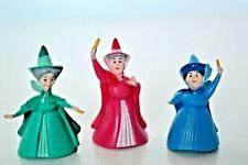 Disney Sleeping Beauty Fairy Godmother Dolls/Figures Flora, Fauna & Merryweather