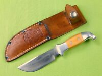 1983-84 Custom Hand Made R.H. RUANA Model 13B Signed Blade Hunting Knife