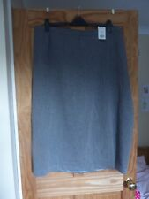 Evans - Fully Lined - Grey - Skirt - Size 28 - New