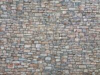 NOCH 56640 - Novità, muro in pietra, cartoncino in rilievo 3D. Scala H0
