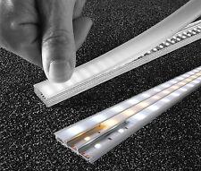 Barra rigida alluminio 1mt 100 LED modulare 12v striscia 20w segnaletica decoro