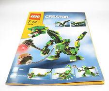 LEGO 3724  ISTRUZIONI DRAGO SET RARO Baukästen & Konstruktionsspielzeug Bauanleitung