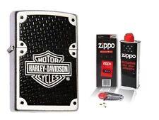 Zippo Feuerzeug Harley Davidson Carbon & Zubehör L