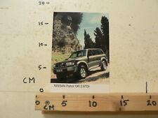 AF164-PHOTO FACTORY ? NISSAN PATROL GR 2.8 TDI CAR AUTO