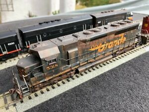 1:87 SD45 D&RGW PROFESSIONALLY WEATHERED AND DETAILED DCC 5318