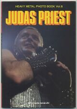 Judas Priest JAPAN PHOTO BOOK Heavy Metal Photo Book Vol. 6, Published in 1984