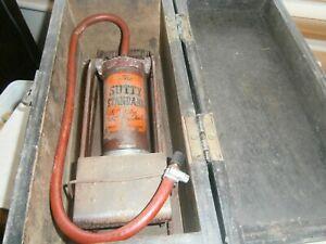 Vintage Sutty Standard Tyre Pump Original Box