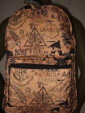 Harry Potter Ministry of Magic Hogwarts Dragon Horcrux Symbols Backpack Book Bag