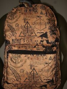 Harry Potter Ministry Of Magic Wizard Hogwarts Dragon Horcrux Backpack Book Bag