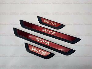für Kia Seltos Car Zubehör Teile Beschützer Schutz Styling Einstiegsleisten 2021