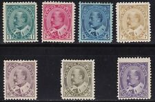 1903-12 Canada - Sg 173/187 Set Of 7 George V #MH