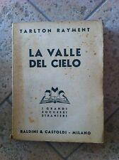 LA VALLE DEL CIELO-TARLTON RAYMENT-BALDINI & CASTOLDI-MILANO-1937