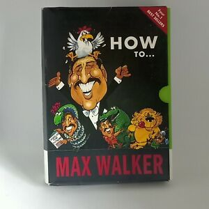 Max Walker Four Humorous How To 2007 Books. Exc Condition. FREE POSTAGE. TRACKED