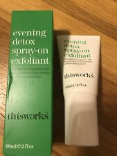 THIS WORKS Evening Detox Spray-On Exfoliant 2 oz NEW in BOX - $52 Value
