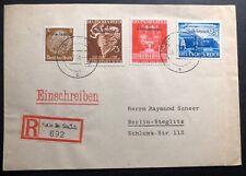 1941 Stein Südkärnten Germany Registered cover To Berlin