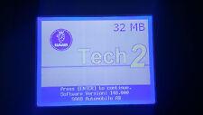 SAAB Tech 2 Memory Card 32MB 148.000 1998-2012 GM Tech2 Diagnostic Scanner TIS